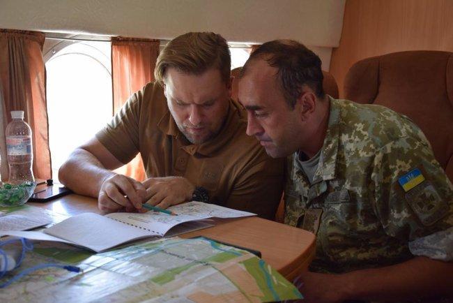 Облаштування кордону з РФ на Харківщині завершиться до кінця року / фото прес-служби МВС