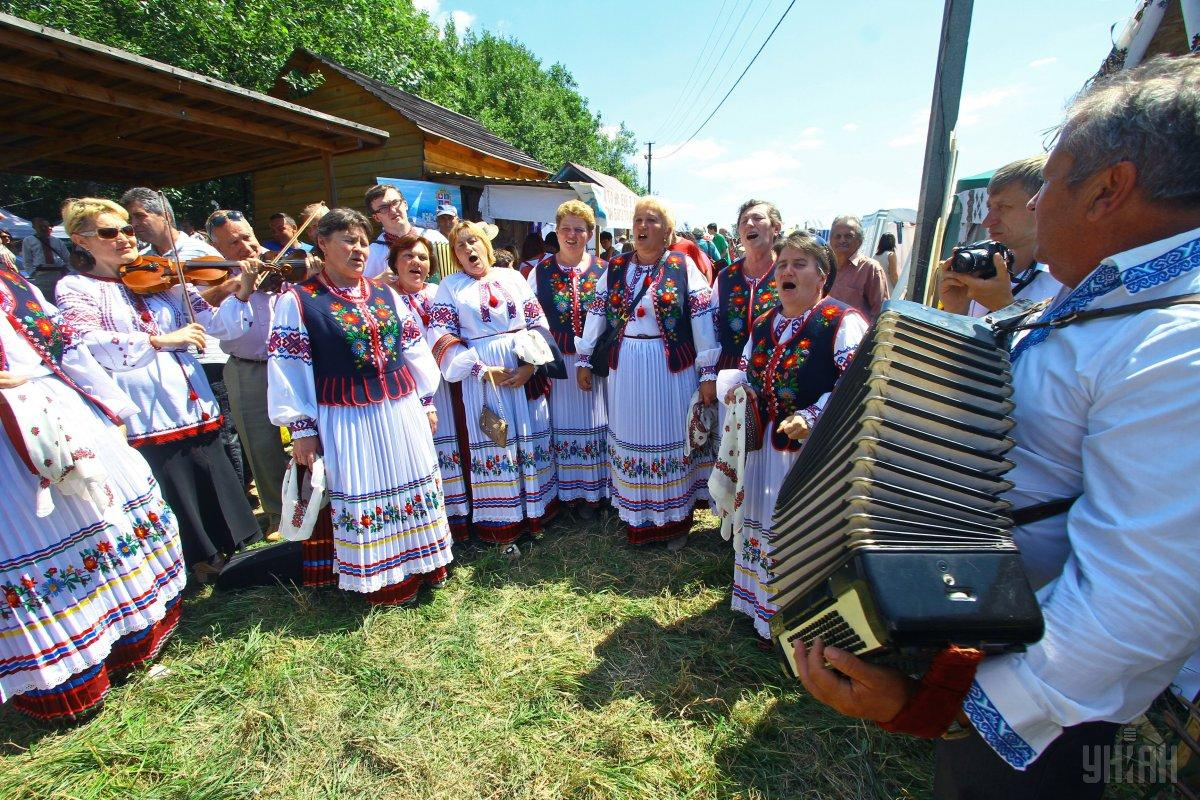 Гостей фестиваля ждут выступления народных коллективов / Фото УНИАН