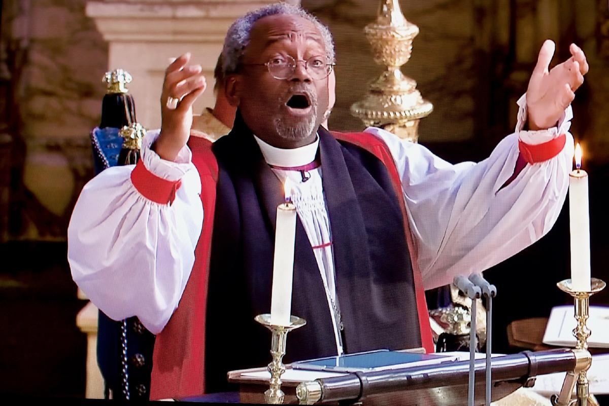 Епископ Майкл Карри на королевской свадьбе / theosthinktank.co.uk