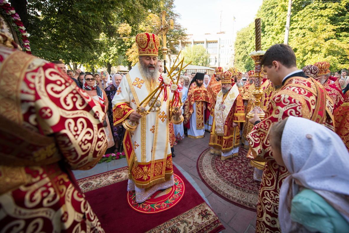 По словам Предстоятеля УПЦ, все разделения в мире являются следствием греха / church.ua