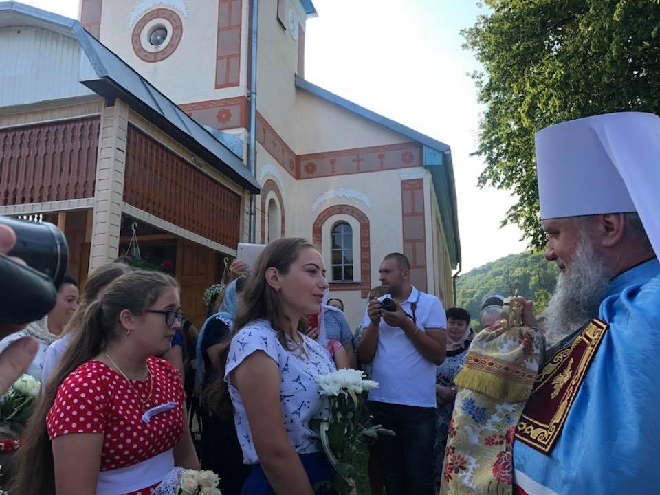 На Закарпатті освятили оновлений храм УПЦ / m-church.org.ua