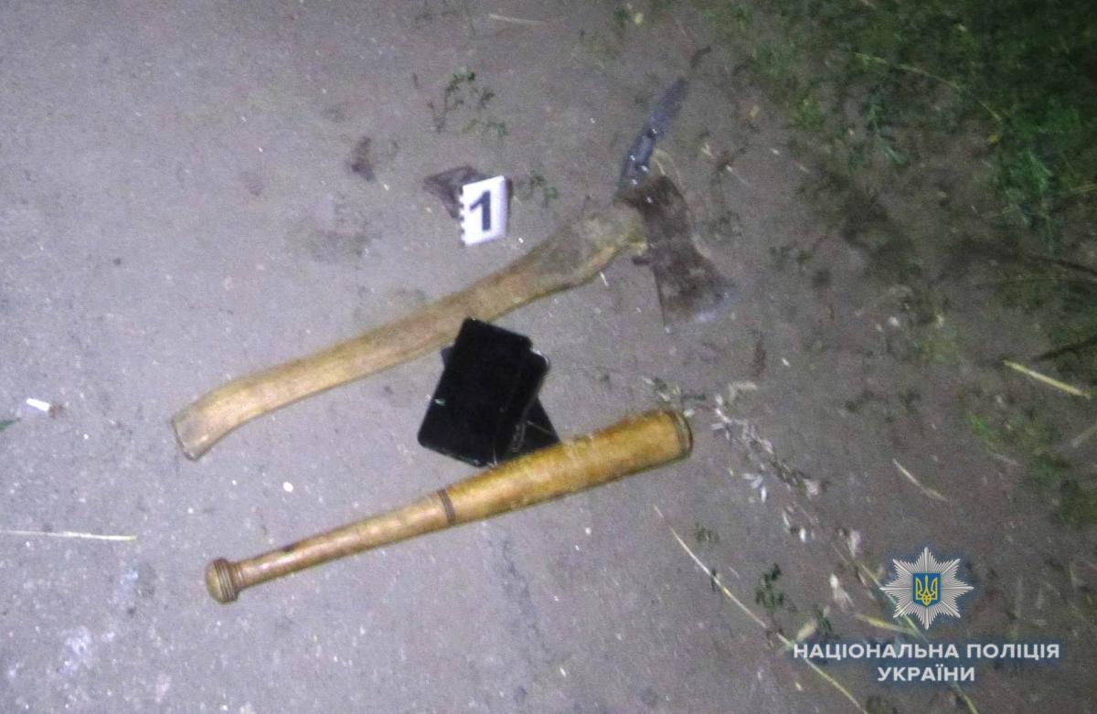 На Київщині двоє росіян жорстоко побили місцевих мешканців / фото ГУ НП Київської області