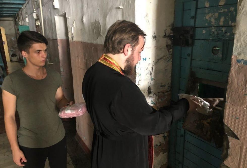 Затриманим роздали гуманітарну допомогу / eparhiya.od.ua