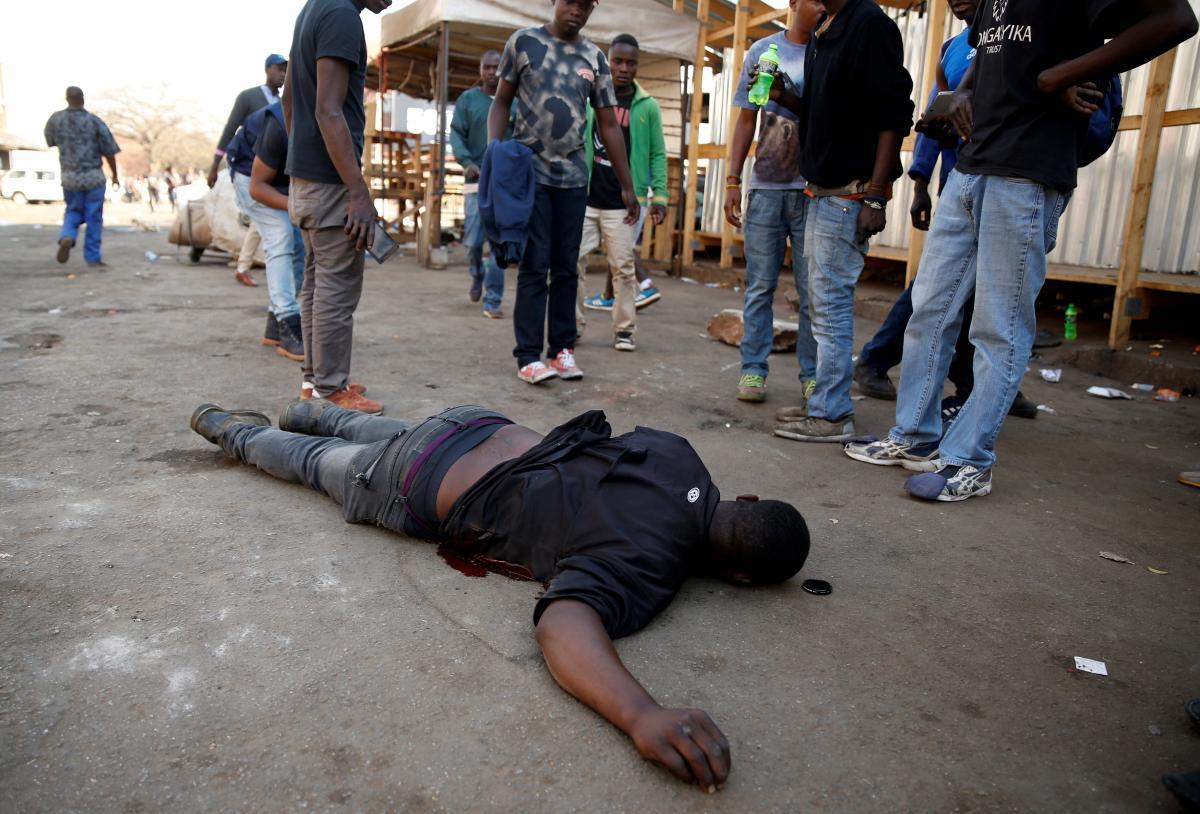 Погибший участник протестов / REUTERS