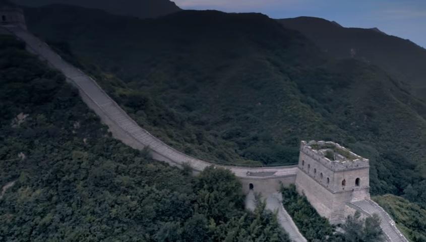 Велика Китайська стіна готується приймати гостей / Скріншот
