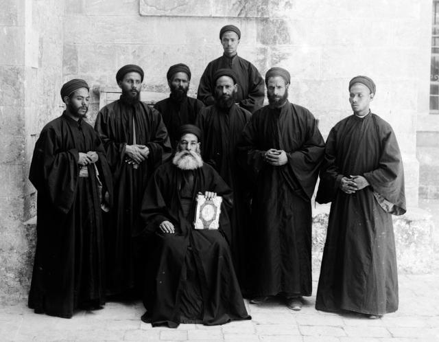 Коптские монахи. 1898 -1914 / regnum.ru