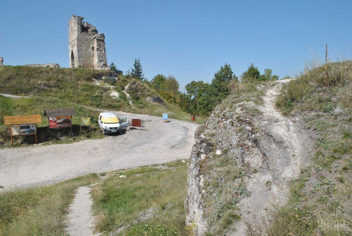 Руїни Кременецького замку / Фото УНІАН