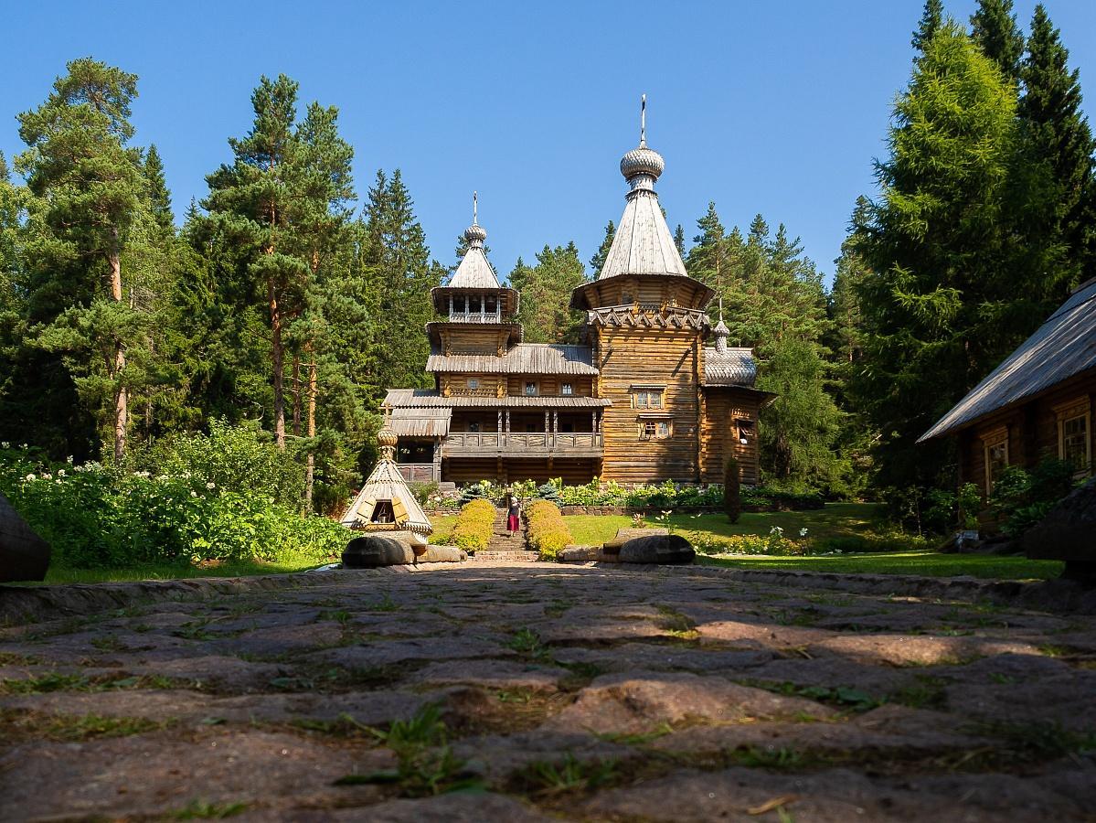 ВИльинском скиту постоянно проживает несколько насельников / monasterium.ru