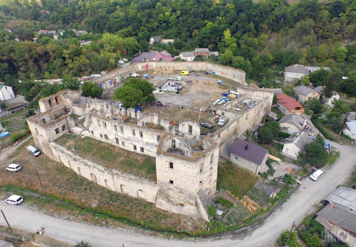 Чортківський замок / Фото УНІАН
