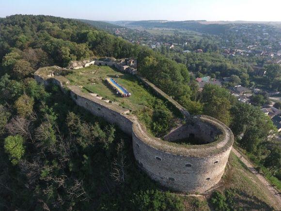 Замок в Теребовлі / Фото Теребовлянська РДА