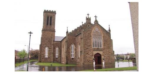 Католический храм в Северной Ирландии расписали слоганами террористической организации / catholicnews.org.ua