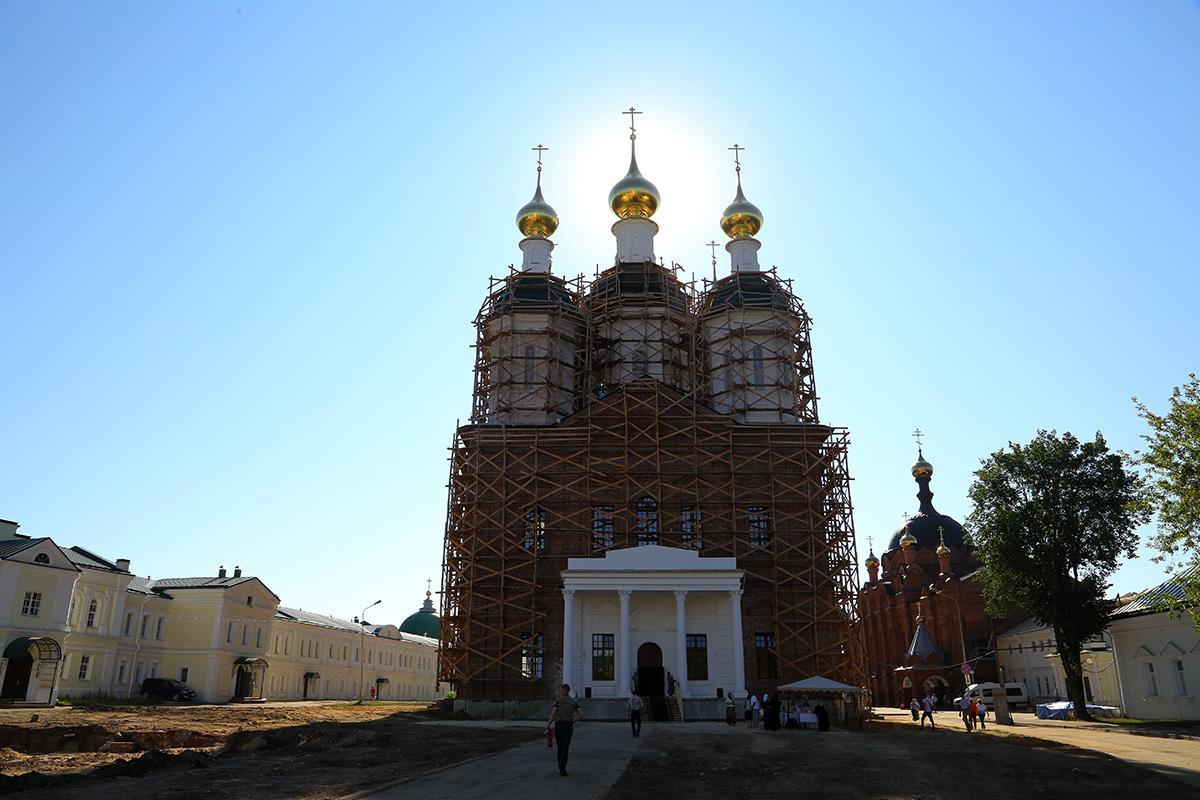 Восстановление собора началось весной 2016 года / nne.ru