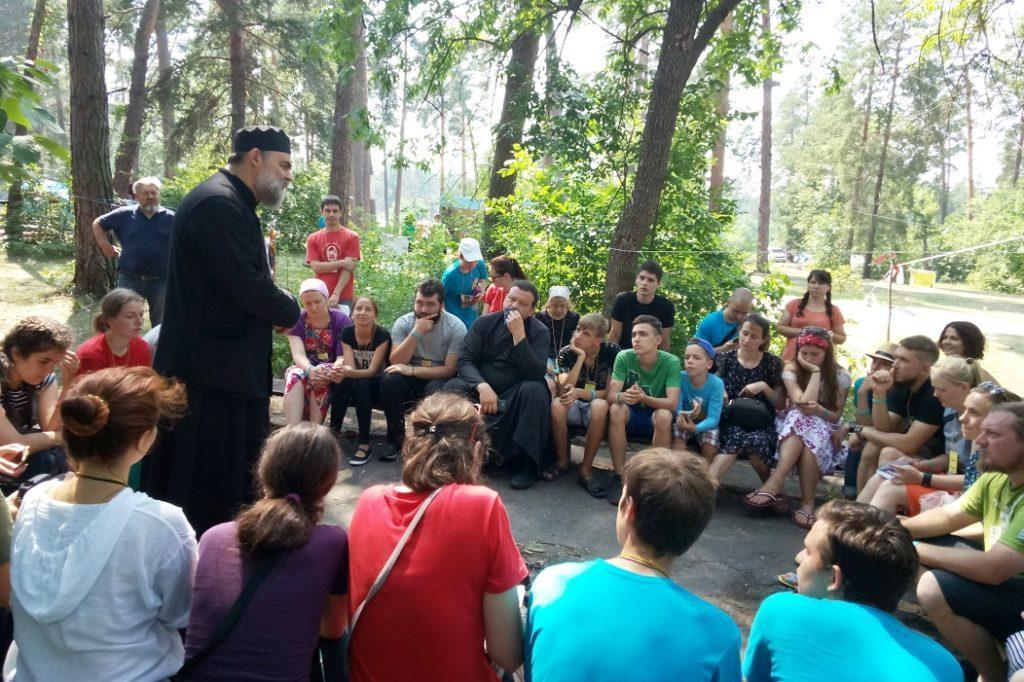 "Одним з заходов ""Ортофесту"" були бесіди зі священиками / church.ua"