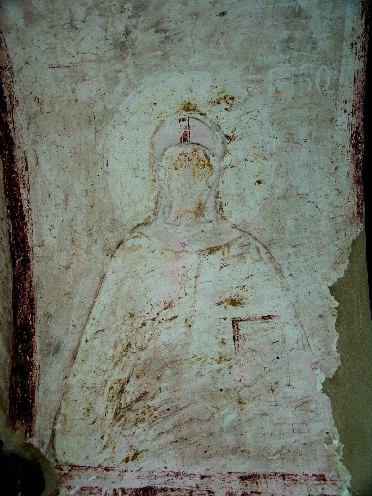 Обнаруженная фреска с изображением Святой Нины / newsgeorgia.ge
