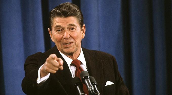 В 1982 году в выступлении на Генассамблее ООН президент США Рональд Рейган назвал СССР империей зла / фото theperson.pro