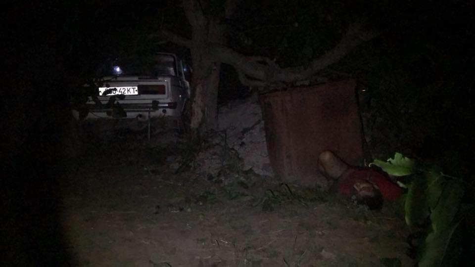 На Херсонщині п'яний військовий комісар за кермом вбив пару / фото