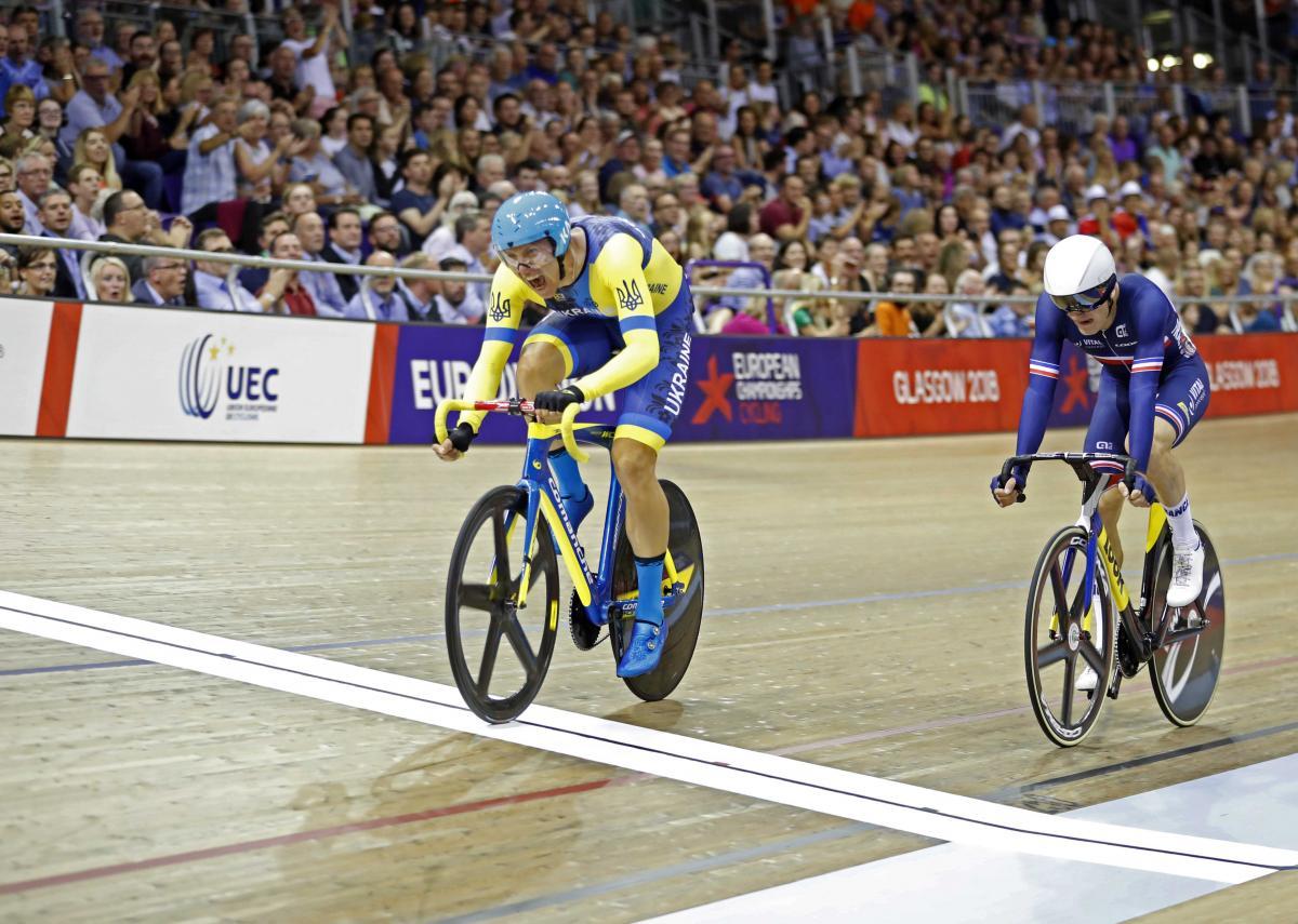 Гладыш завоевал золото в сркатче чемпионата Европы по велоспорт-треку / Reuters