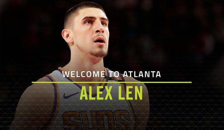 Лэнь подписал контракт с Атлантой Хоукс / nba.com/hawks