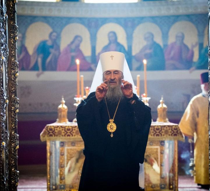 Митрополит Онуфрий возглавил всенощное бдение в Успенском соборе / news.church.ua