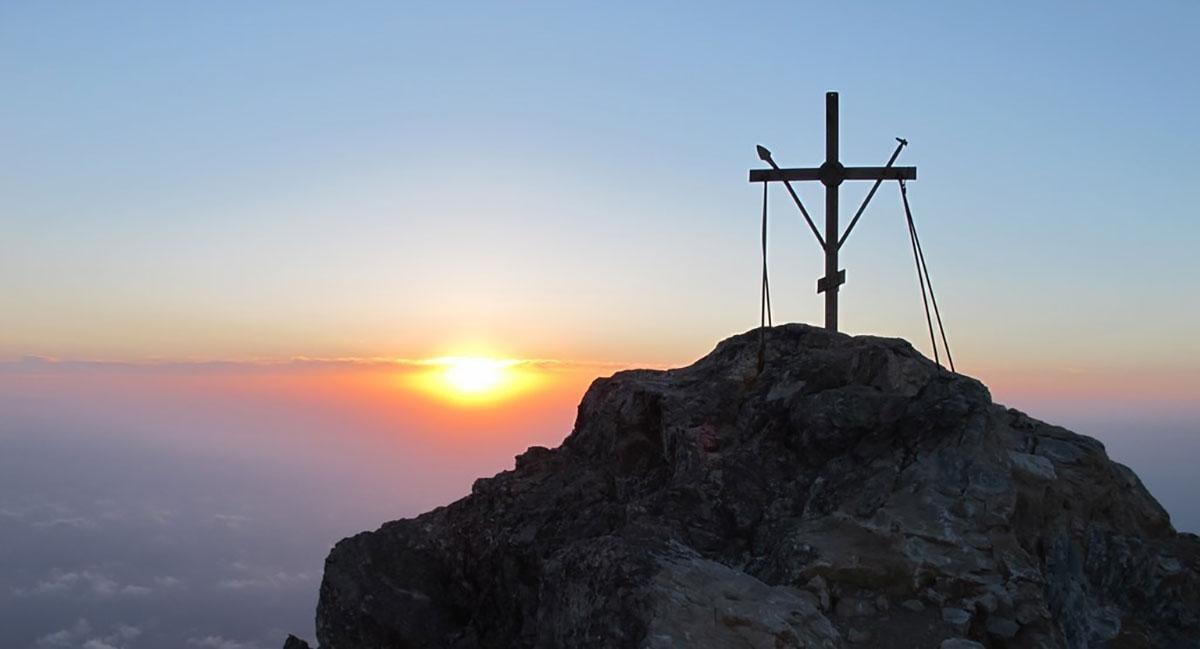 Крест на Святой Горе / sviatogora.com