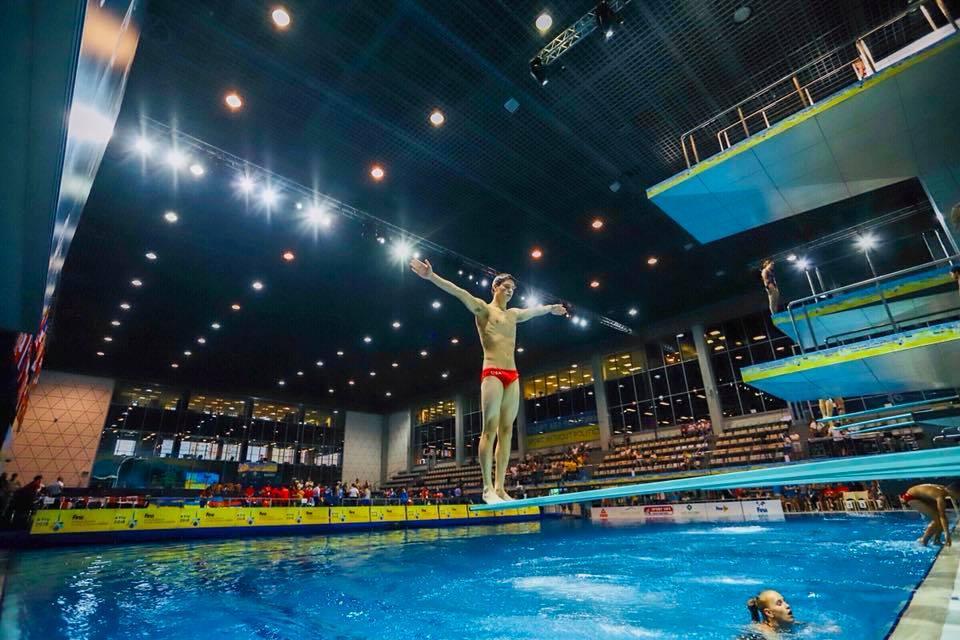Федерация по прыжкам в воду Украины