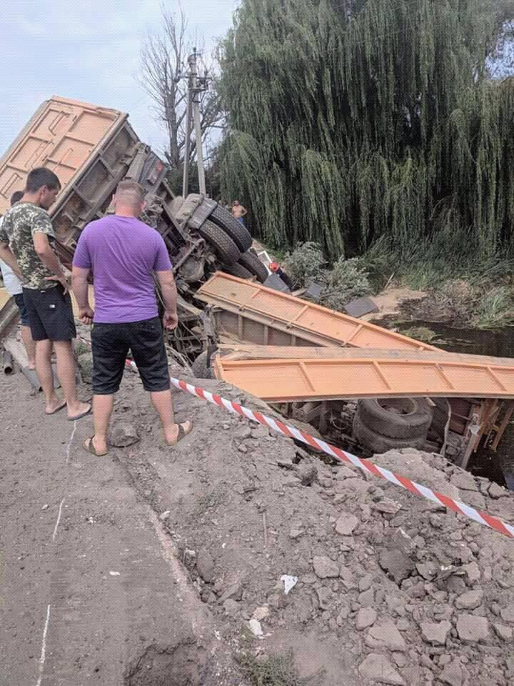 На Хмельниччині сталась масштабна ДТП з вантажівкою /Facebook - Сергей Пикуля