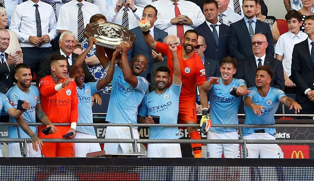 """""""Манчестер Сіті"""" виграв Суперкубок Англії / REUTERS"""