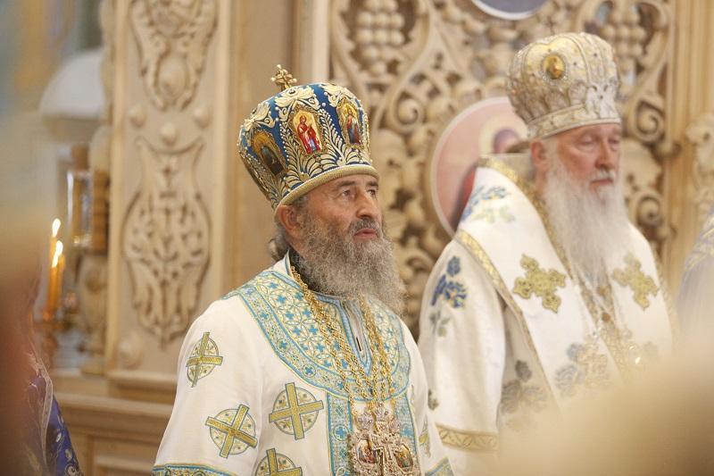 Митрополит Онуфрий подчеркнул, что сегодня мы особенно должны просить у Божьей Матери заступничества / news.church.ua