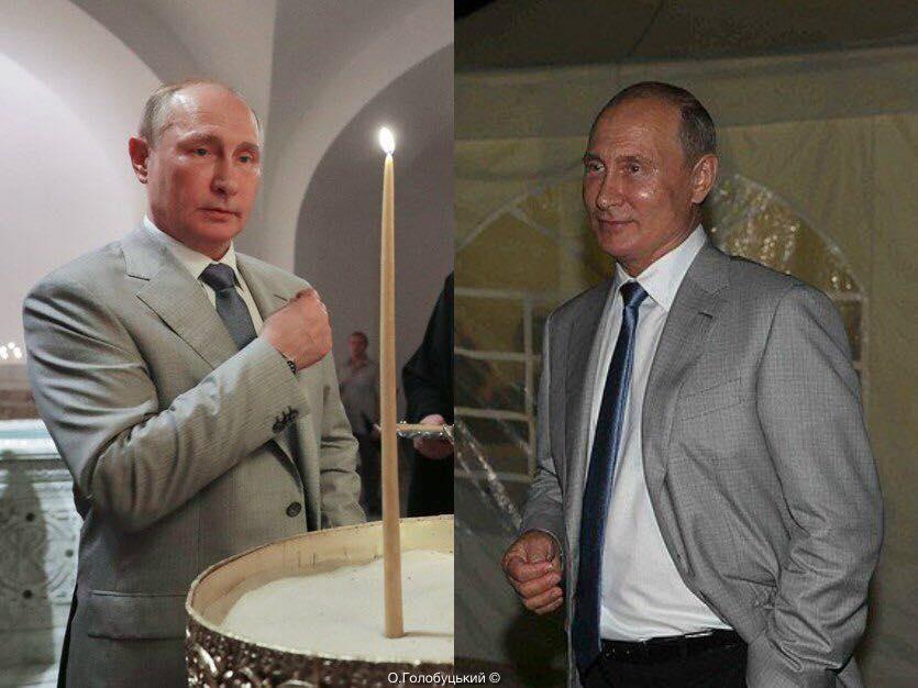 Путин побывал в оккупированном Крыму / фото facebook.com/aleksej.golobuckij