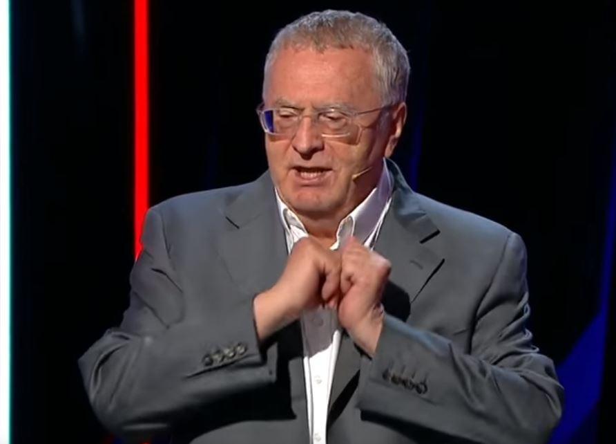 Жириновскому не нравится гимн РФ / Скриншот - Youtube - Россия 24