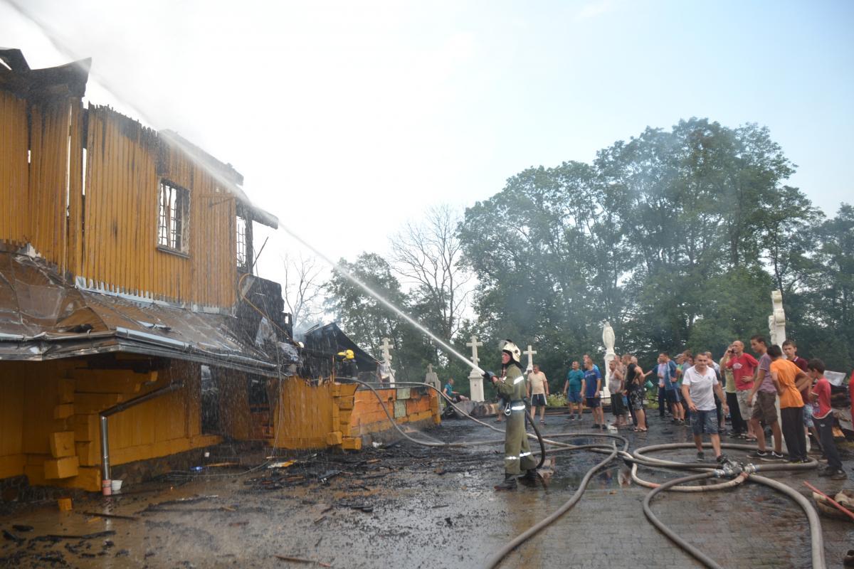 Причина возникновения пожара устанавливается / lviv.dsns.gov.ua