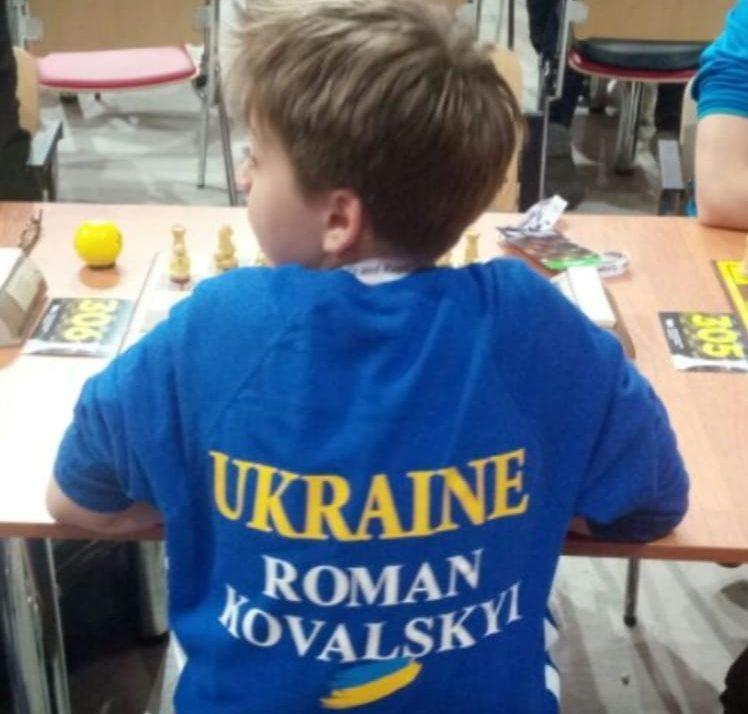 Украинский шахматист ответил россиянину на английском \ соцсети