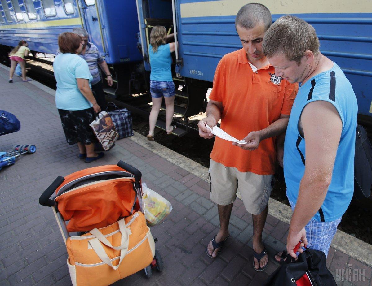Туристам предоставили места в других вагонах / фото УНИАН