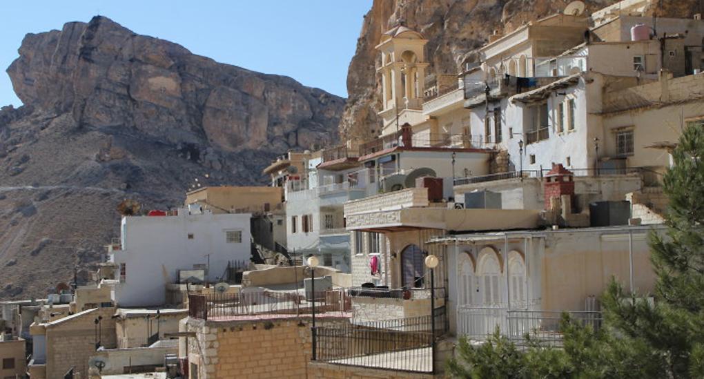 Древній монастир усирійській Маалюлізнову діє / foma.ru