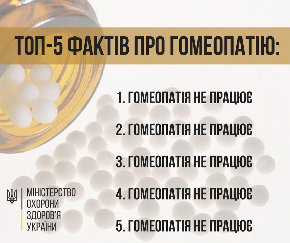 Супрун знову розкритикувала гомеопатію / фото facebook.com/ulanasuprun