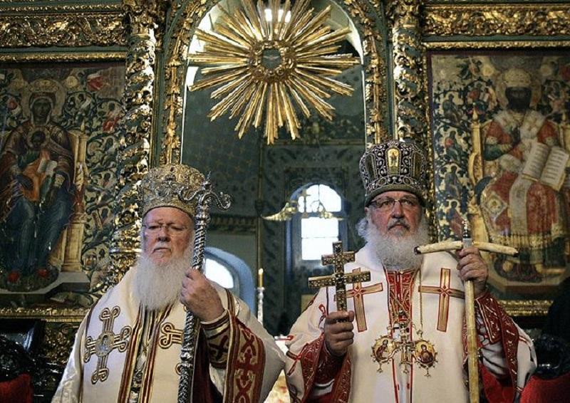 Предыдущая встреча Патриарха Кирилла с Патриархом Варфоломеем состоялась в январе 2016 года / news.church.ua