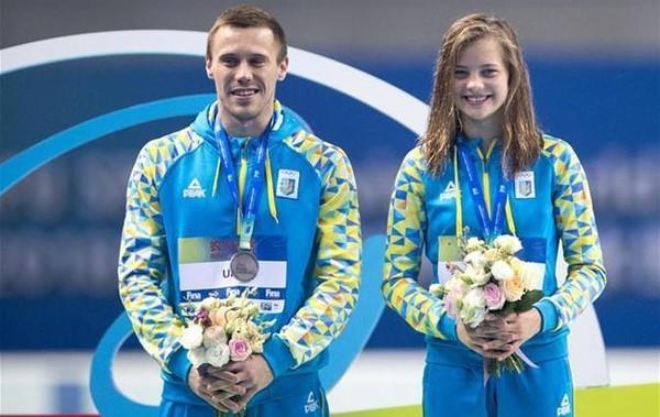 Олег Колодій і Софія Лискун / НОК України