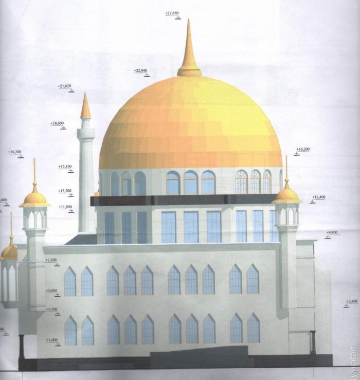 Всего вОдессе будет пять исламских молитвенных домов/ dumskaya.net