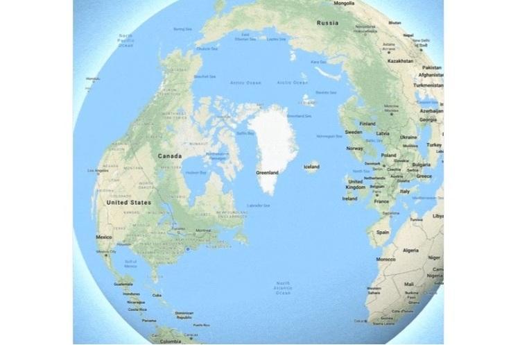 Google завершила работу над своим картографическим сервисом Google Maps / скриншот twitter.com/googlemaps
