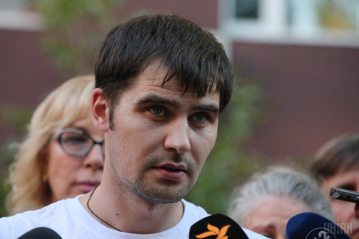 3 серпня Костенка було звільнено з російської в'язниці / фото УНІАН
