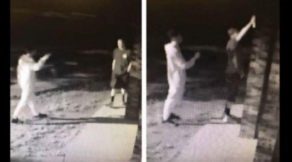 Злоумышленников зафиксировали камеры наружного видеонаблюдения / Islam-today