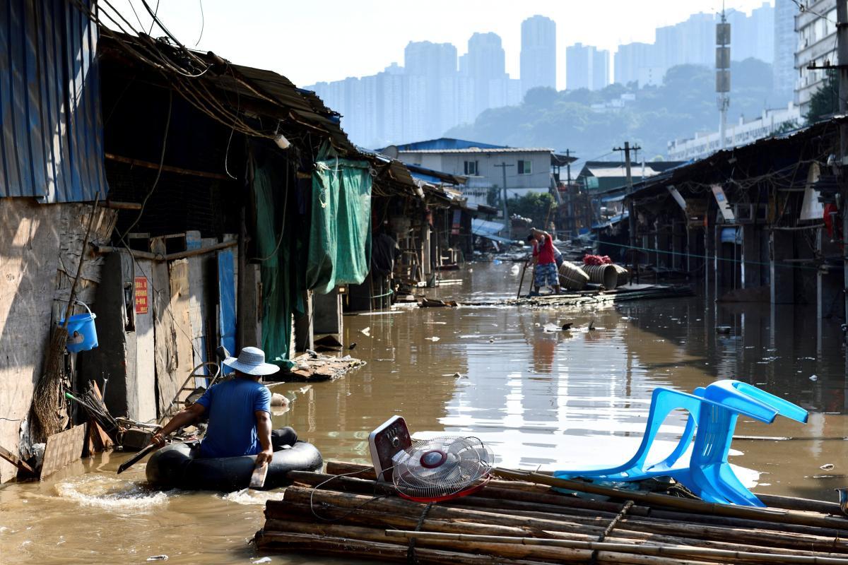 Китай страждає від повеней / REUTERS
