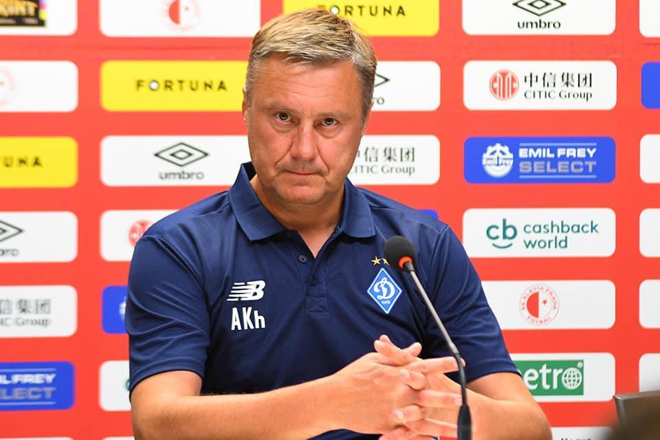 Хацкевич поскаржився на відсутність досвіду конкурентних матчів в чемпіонаті України / facebook.com/fcdynamoua
