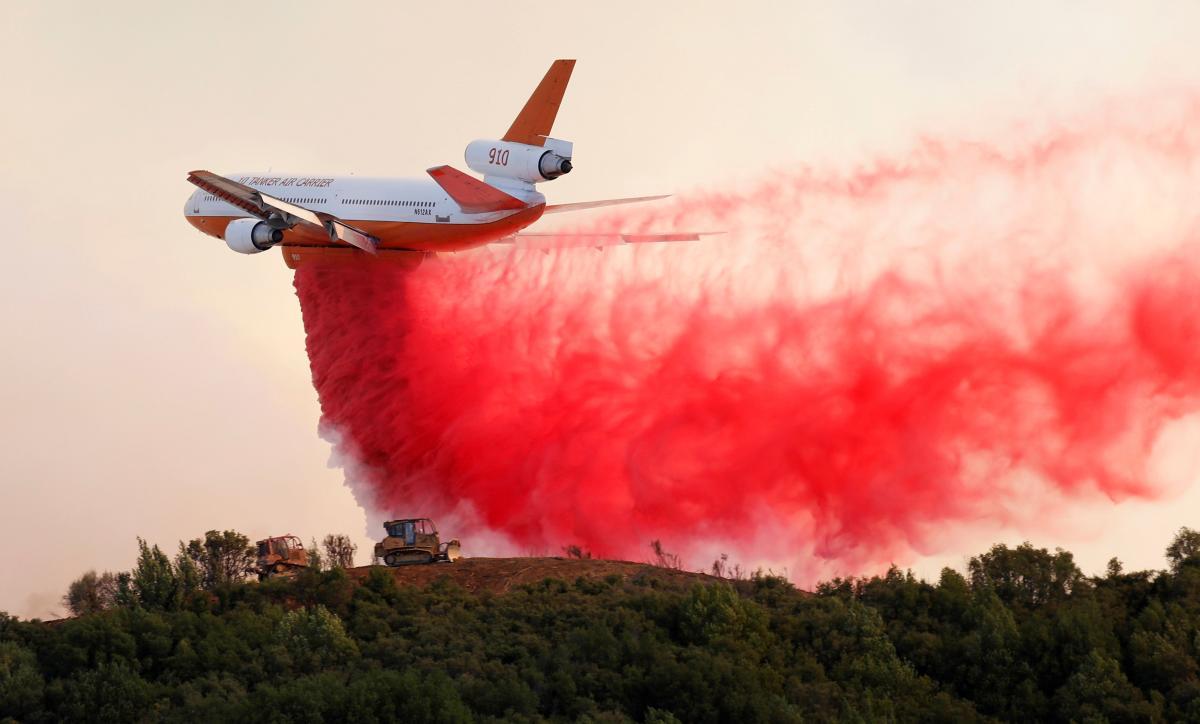 Каліфорнію охопили лісові пожежі / REUTERS