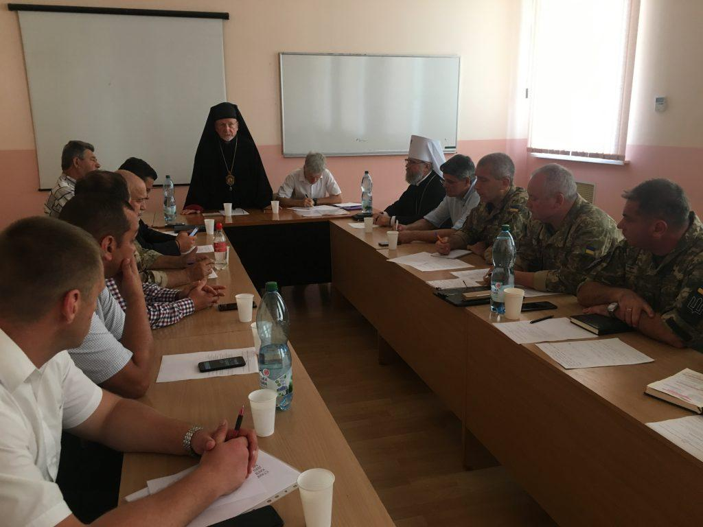 Голова військового відділу УПЦ взяв участь у засіданні душпастирської Ради при Міноборони України / kapelan.org.ua
