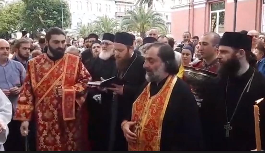 В Грузии верующие провели акцию протеста против легализации употребления марихуаны / facebook.com/tvshowhashtag/videos