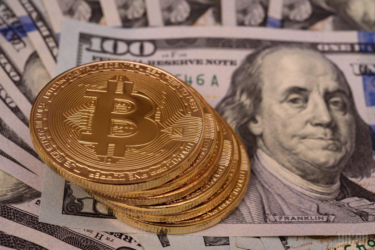На долю биткоина приходится примерно 61,3% всего глобального рынка криптовалют / фото УНИАН Владимир Гонтар