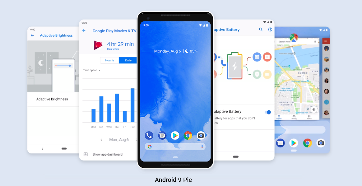 Google випустила Android Pie / скріншот
