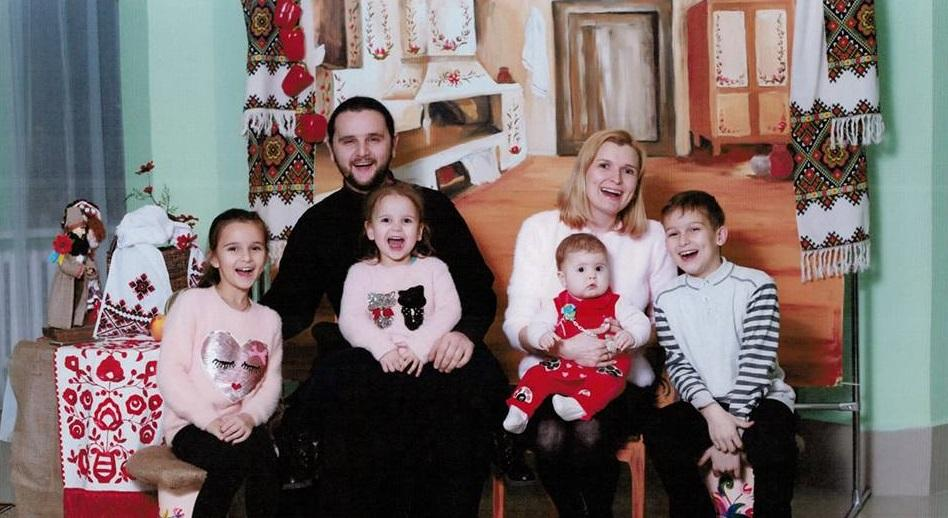 Протоиерей Александр Клименко с семьей / news.church.ua