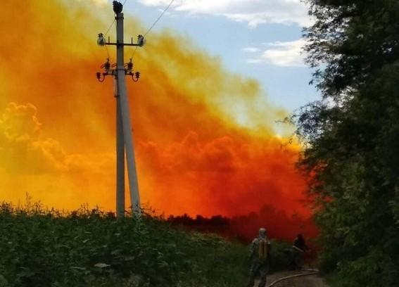 На Днепропетровщине произошла утечка азотной кислоты / фото Информатор